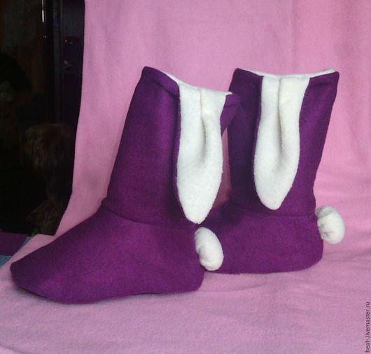 Обувь ручной работы. Ярмарка Мастеров - ручная работа. Купить Домашние тапочки. Handmade. Тапочки домашние, сапожки ручной работы