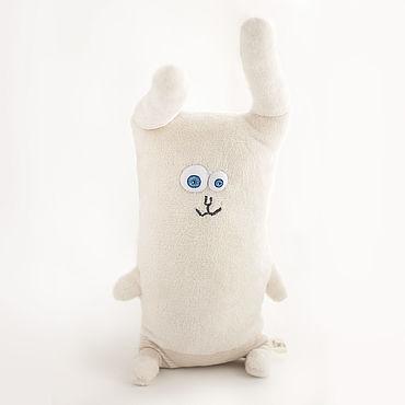 Для дома и интерьера handmade. Livemaster - original item Velor pillow toy Bunny. Handmade.