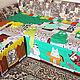 """Текстиль, ковры ручной работы. Покрывало лоскутное, одеяло лоскутное """"Коты"""". Семейная мастерская 'Happy House'. Интернет-магазин Ярмарка Мастеров."""