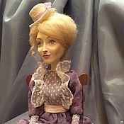 """Куклы и игрушки ручной работы. Ярмарка Мастеров - ручная работа Авторская кукла """"Мадмуазель"""". Handmade."""