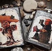 Посуда handmade. Livemaster - original item A flask The tavern sings all night.. Handmade.