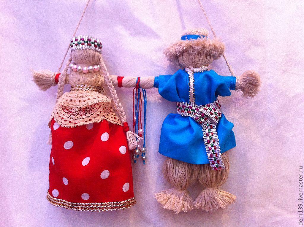 фото старинных кукол для молодоженов