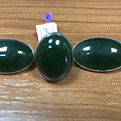 Украшения handmade. Livemaster - original item Jewelry set of green jade in silver. Handmade.