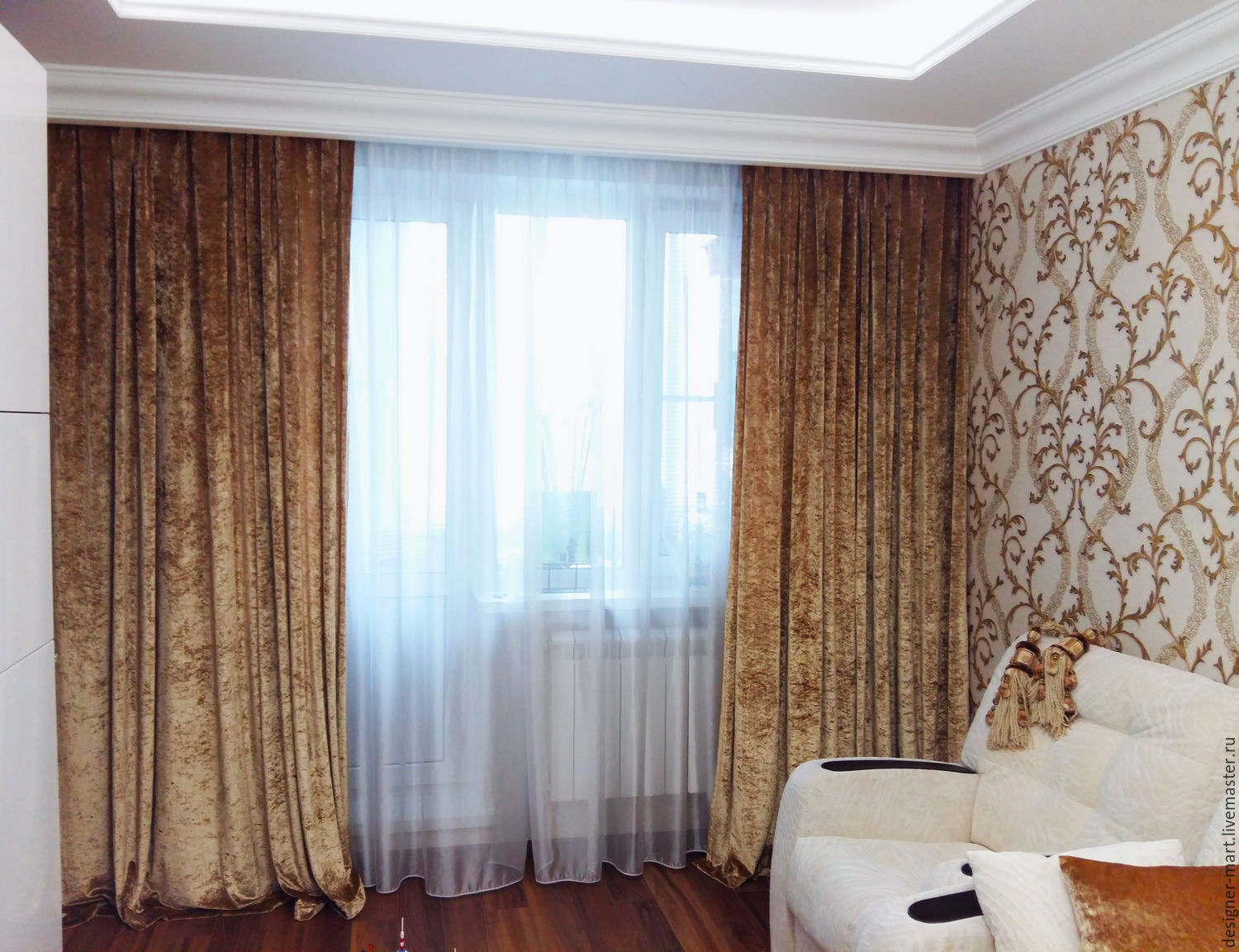 decor dream decorate the panel velvet curtains curtain victorian beautiful inch gold pair house with