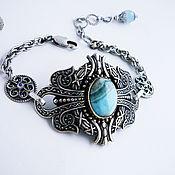 b200f8d19de89 handmade bracelet Opalite Shambhala Tibetan – shop online on ...