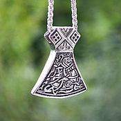 Украшения handmade. Livemaster - original item Pendant / Amulet Scandinavian Ax of Jewelry Steel. Handmade.