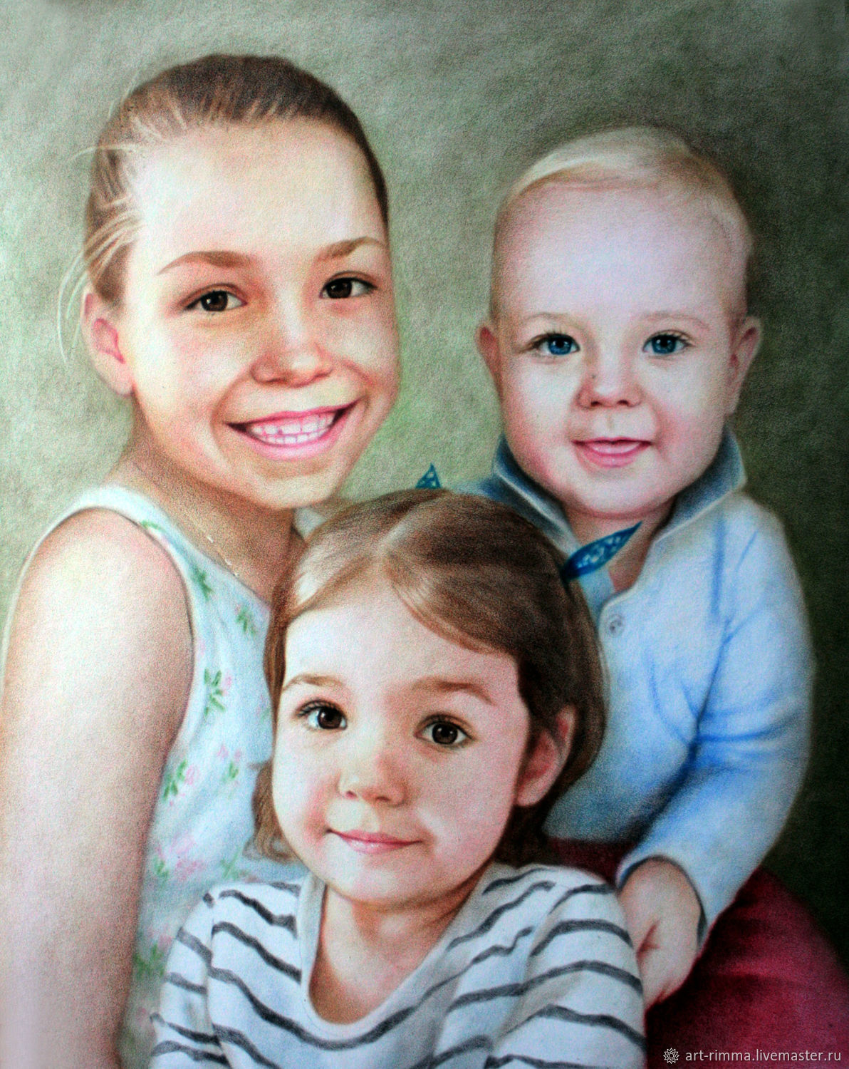 Children's portrait from different photos, Pictures, Moscow,  Фото №1