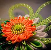 """Украшения ручной работы. Ярмарка Мастеров - ручная работа Комплект резинок """"Буйные цветы"""". Handmade."""