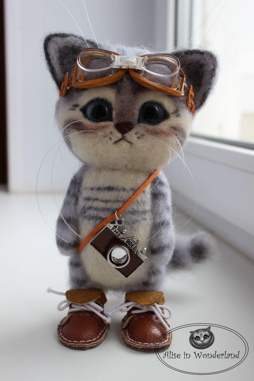 Кот пилот, Мягкие игрушки, Самара,  Фото №1