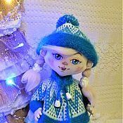 Куклы и игрушки ручной работы. Ярмарка Мастеров - ручная работа кукла текстильная Снегурочка. Handmade.