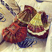 Для дома и интерьера ручной работы. Ярмарка Мастеров - ручная работа Бабушкино лукошко. Handmade.