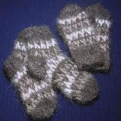 Аксессуары handmade. Livemaster - original item Children`s knitted set Double rhombus. Handmade.