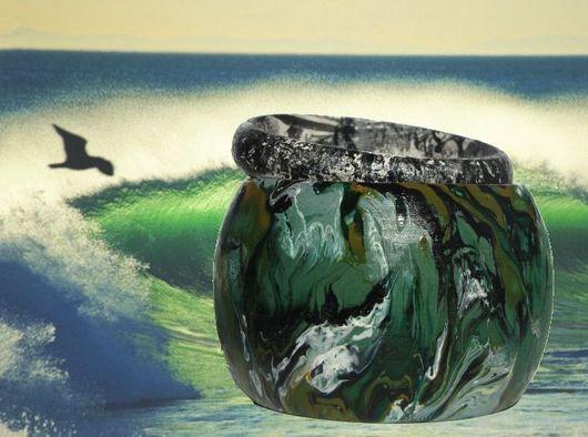 """Браслеты ручной работы. Ярмарка Мастеров - ручная работа. Купить Браслеты """"Тайны океана"""". Handmade. Браслет, украшения ручной работы"""