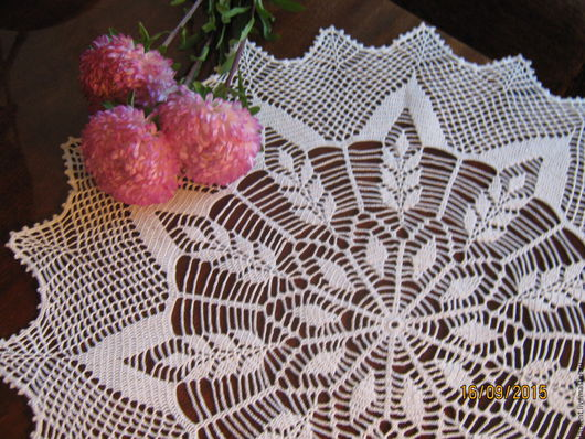 Текстиль, ковры ручной работы. Ярмарка Мастеров - ручная работа. Купить Салфетка № 37. Handmade. Белый, подарок