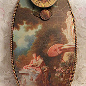 Для дома и интерьера ручной работы. Ярмарка Мастеров - ручная работа Часы большие с маятником №2. Handmade.