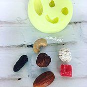 Материалы для творчества ручной работы. Ярмарка Мастеров - ручная работа Молд Ореховый Микс. Handmade.