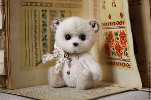 Мишки Тедди ручной работы. Ярмарка Мастеров - ручная работа. Купить Тиша. Handmade. Бежевый, мишка тедди, миник