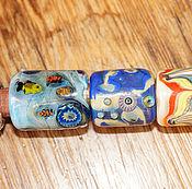 Материалы для творчества ручной работы. Ярмарка Мастеров - ручная работа Бусины для браслетов типа Регализ/Regaliz. Handmade.