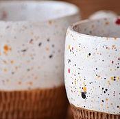 """Посуда ручной работы. Ярмарка Мастеров - ручная работа Чайный набор """"Конфетти"""". Handmade."""