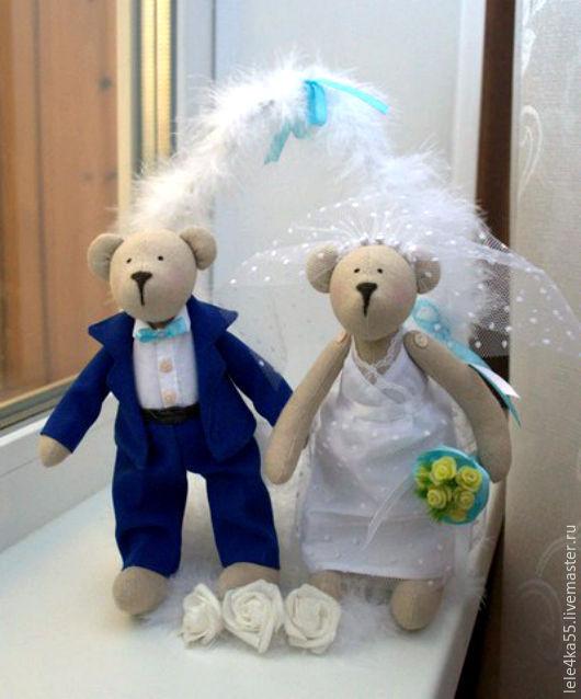 Куклы Тильды ручной работы. Ярмарка Мастеров - ручная работа. Купить свадебные мишки Тильды. Handmade. Мишки Тильды