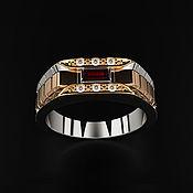 Украшения handmade. Livemaster - original item Ring: Elegant Male Ring. Handmade.
