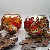 Для дома и интерьера handmade. Livemaster - original item Set of 2 candlesticks