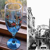 """Посуда ручной работы. Ярмарка Мастеров - ручная работа Бокал """"Венеция"""". Handmade."""