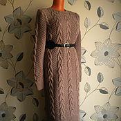 """Одежда ручной работы. Ярмарка Мастеров - ручная работа """"Платье цвета кофе с молоком"""". Handmade."""