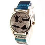 Украшения ручной работы. Ярмарка Мастеров - ручная работа Дизайнерские наручные часы Серфера. Handmade.