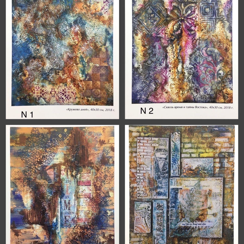 Сувенирные авторские открытки, Открытки, Москва,  Фото №1