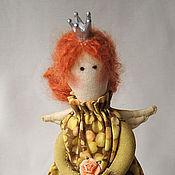 Куклы и игрушки ручной работы. Ярмарка Мастеров - ручная работа интерьерная кукла - принцесса на горошине Инга. Handmade.