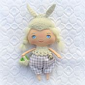 Подарки к праздникам handmade. Livemaster - original item Doll textile blossom Collection Celebrate the New year. Handmade.