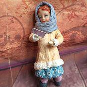 Куклы и игрушки ручной работы. Ярмарка Мастеров - ручная работа Ватная игрушка, Саша с письмом. Handmade.