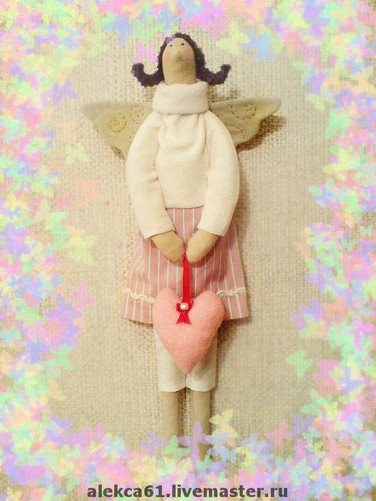 Куклы Тильды ручной работы. Ярмарка Мастеров - ручная работа. Купить Феечка  Ксенюшка. Handmade. Кукла Тильда, девочка, ангел