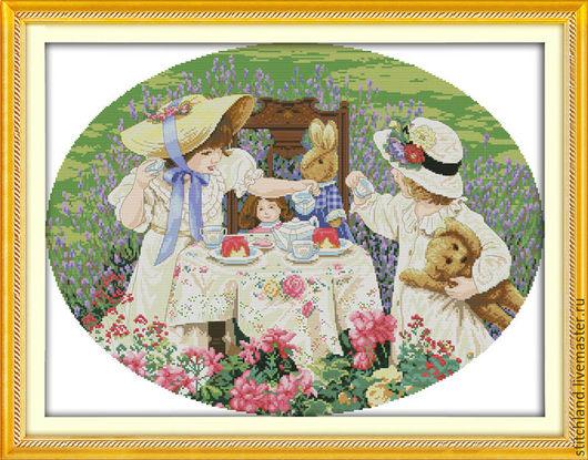 Набор для вышивания `Чаепитие`