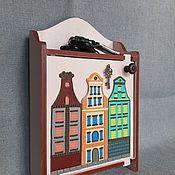 Для дома и интерьера handmade. Livemaster - original item Housekeeper-locker Holland 2 beige. The housekeeper wall.. Handmade.