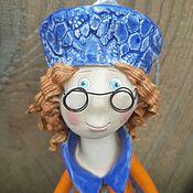 Куклы и игрушки handmade. Livemaster - original item Clever girl. Handmade.