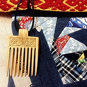 "Русский стиль handmade. Livemaster - original item Wooden pendants ""Scallop"". Handmade."