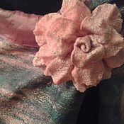 Аксессуары ручной работы. Ярмарка Мастеров - ручная работа розовый туман. Handmade.