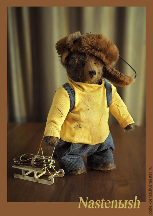 Мишки Тедди ручной работы. Ярмарка Мастеров - ручная работа. Купить Лесоруб. Handmade. Коричневый, мишка тедди, мохер