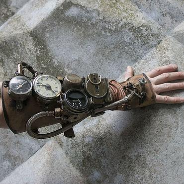 Субкультуры ручной работы. Ярмарка Мастеров - ручная работа Наруч в стиле постапокалипсис. Handmade.