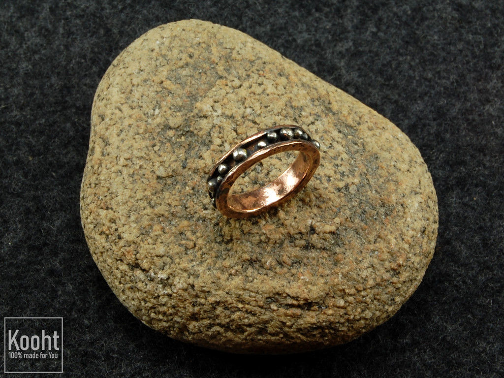 Ring made of copper and silver, Rings, St. Petersburg,  Фото №1