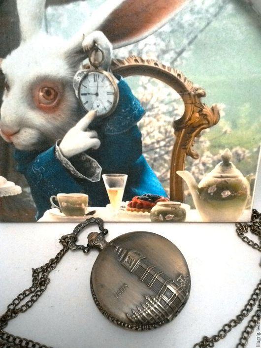 "Часы ручной работы. Ярмарка Мастеров - ручная работа. Купить Часы карманные ""Биг Бен"". Handmade. Часы, часы на цепочке"