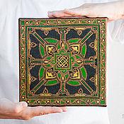 Картины и панно ручной работы. Ярмарка Мастеров - ручная работа Мандала Кельтская, интерьерная картина на холсте. Handmade.