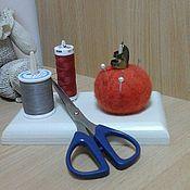 Для дома и интерьера ручной работы. Ярмарка Мастеров - ручная работа Органайзер для рукоделия  041. Handmade.