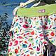 """Одежда для девочек, ручной работы. Пижама """"Птичка - невеличка"""". Миронушка     (Виктория Супрун). Интернет-магазин Ярмарка Мастеров. Птичка"""