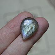 Материалы для творчества handmade. Livemaster - original item Labradorite. Cabochon 22 X 16 X 5. Handmade.