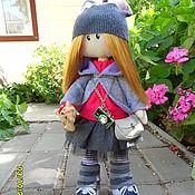 Куклы и игрушки ручной работы. Ярмарка Мастеров - ручная работа куклы  тильды большеножки. Handmade.