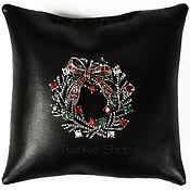 Украшения handmade. Livemaster - original item Brooch Christmas Wreath. Handmade.