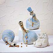 """Для дома и интерьера ручной работы. Ярмарка Мастеров - ручная работа """"Сосуды пьяные"""", дек. вазы. Handmade."""